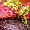 ポルトベッロ - 料理写真:猟師直送!鹿の溶岩グリル