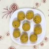 カジャナ - 料理写真: 結婚式や祭りの際に作られる、インドの有名なデザートブンディナラドゥ。ひよこ豆を挽いた粉で作られています