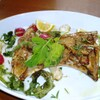 チムニーギオット - 料理写真:まぐろカマの香草焼き