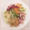 和カフェ yusoshi chano-ma - 料理写真:チキンと彩り野菜のサラダ