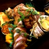 エル ポルテロ! - 料理写真:おせちの1段目にはローストビーフにイベ理子豚のパテ、伊勢海老のオーブン焼きなどなど、お正月を迎えるにふさわしい食材がズラリ☆