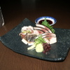 酒菜や 瓢箪 - 料理写真:炙りシメサバのお造り