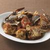 巨牛荘 - 料理写真:渡り蟹をニンニク・醤油・唐辛子で漬けた「カンジャン・ケジャン」そのまま生でお食べ下さい