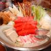 ふく竹 - 料理写真:新発売。明太ちゃんこ鍋。