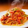 イタリアンダイニング マッシュルームプライム - 料理写真:最後まで手が止まらなくなる『シーフードのトマトソースパスタ』