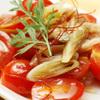 tama - 料理写真:トマトとミョウガのおひたし 480円