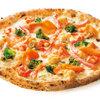 PIZZA SALVATORE CUOMO - 料理写真:冬限定!!紅ズワイガニとサーモンのピツァ!!
