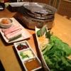 炎 - 料理写真:地養豚サムギョプサル・セット