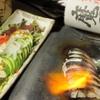 純風 - メイン写真:炙り締め鯖・鮪とアボガドのワサビソースがけ