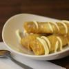 大阪カオマンガイカフェ - 料理写真:バナナの揚げ春巻き