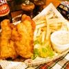 オールドイングランド - 料理写真:フィッシュ&チッツプス ハーフサイズ¥600・レギュラーサイズ¥1060