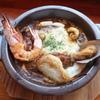 伽哩本舗 - 料理写真:スペシャルシーフードの焼きカレー