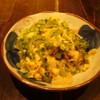 海神 - 料理写真:ゴーヤチャンプルー(ゴーヤの苦味と豆腐卵のベストマッチ!!ビタミンたっぷり!!女性にオススメ!!)