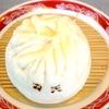 中国麺家万天 - 料理写真:ボリューム充分、本格肉饅。100%の自家製です。持ち帰りも可能。本品一個と半分の麺(ラーメン・坦々麺・鶏そば)とのセットメニューも用意しています。