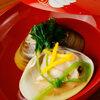 澄仙 - 料理写真:おまかせコースの碗物(季節により変更有)