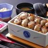 まめたぬき - 料理写真:牡蠣の陶箱飯(小鉢・吸物・香の物付)