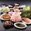 とん豚テジ - 料理写真:一番人気のとん豚コース