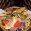 うおよし - 料理写真:事前予約頂いた刺身盛り合わせ