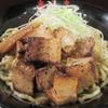油そば春日亭 - 料理写真:炙り角切肉油そば