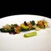 ポンドールイノ - 料理写真:グリーンアスパラガス トリュフ風味の温度卵を添えて