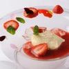 TN - 料理写真:『苺のズッパ ホワイトチョコレートのムースミント』