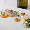 TN - 料理写真:『鰆のスコッタートとホワイトアスパラ うにのザバイオーネ』