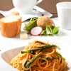 euro dining claret - 料理写真:ランチメニュー一例。前菜 スープ メイン ドリンク 自家製パンのセット。 ¥1,000~