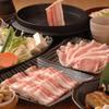 鹿児島黒豚しゃぶしゃぶ あじと - 料理写真:お得な基本コース : あじとコース