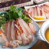 かに問屋 - 料理写真:ズワイ炭火焼・かに鍋コース