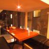 コーデュロイカフェ - 内観写真:半個室のテーブル