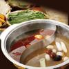 台湾担仔麺 - 料理写真:台湾【麻辣鍋&白湯鍋】2種の味が楽しめるの台湾薬膳鍋です♪