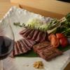 円居-MADOy- - 料理写真:黒毛和牛3種の盛り合わせ