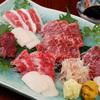 馬春楼 - 料理写真:馬刺し盛り合せ・松 5800円