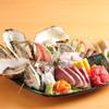 イカセンター新宿総本店 - 料理写真:今朝獲れ地魚刺盛り