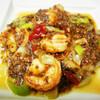 蜀味苑 - 料理写真:芝エビの四川風チリソース炒め