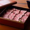 なっぱjuicy - 料理写真:季節の重箱ごはん(コース料理の〆)