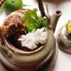 ととや一 - 料理写真:鱧と松茸の土瓶蒸し