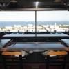 八景 - 内観写真:カウンターからの景色