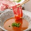 博多もつ鍋 山笠 - 料理写真:熊本直送の霜降り馬刺しです。