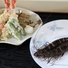 大船 - 料理写真:浜名湖産/クマエビの天ぷら 1,500円(1人前)