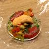キュイジーヌ コリエドール - 料理写真:モンサンミッシェル産ムール貝とパプリカのマリネ 赤パプリカのムース添え