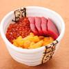 寿司処 旬 - 料理写真:3種類のネタをお選びいただける三食丼¥2,900