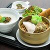 招福門 - 料理写真:香港飲茶とお粥のセット 1,300円