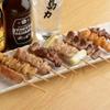 馬力 - 料理写真:オリジナルのたれでも塩でも素材の美味しさを引き立てる『串焼』