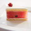 ヌキテパ - 料理写真:シェフがこよなく愛するスイカはヌキテパ流のショートケーキに
