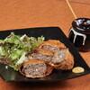 焼酎処さつま - 料理写真:衣サクサク!柔らかくてジューシーな【メンチカツ】もちろん鹿児島産黒豚使用。
