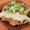 焼酎処さつま - 料理写真:さつま鶏のもも肉をまるまる1枚使った【チキン南蛮】絶品自家製タルタルソースでどうぞ!