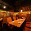 地鶏酒肴庵 ハナタレ - 内観写真:4名様×2/2名様×2 テーブル席