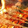 串串 - 料理写真:100%炭火焼き!!