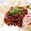 上海小籠包厨房 阿杏 - 料理写真:豚肉の甘味噌炒め~、クレープに巻いて召し上がってね